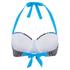 Paolita Women's Rhapsody Gershwin Bikini Top - Blue: Image 3