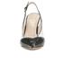 Vivienne Westwood Women's Caruska Sling Back Court Shoes - Black/Clear: Image 4