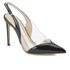 Vivienne Westwood Women's Caruska Sling Back Court Shoes - Black/Clear: Image 2