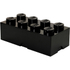 LEGO Storage Brick 8 - Black: Image 1