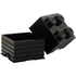 LEGO Storage Brick 4 - Black: Image 2