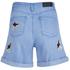 Karl Lagerfeld Women's Choupette Printed Denim Shorts - Light Blue: Image 2