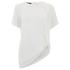 Designers Remix Women's Rion Knot T-Shirt - White: Image 1