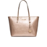 MICHAEL MICHAEL KORS Women's Jet Set Travel Top Zip Tote Bag - Pale Gold: Image 1