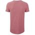 Tommy Hilfiger Men's Crew Neck Pocket T-Shirt - Cranberry: Image 2