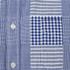 Edwin Men's Short Sleeve Patchwork Shirt - Blue: Image 3