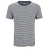Edwin Men's Engineered Fine Rib Striped T-Shirt - Navy/ White: Image 1