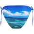 Orlebar Brown Women's Nicoletta Hulton Getty Mustique Mystique Bikini Top - Blue: Image 2
