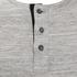 Brave Soul Men's Jeffrey Button Long Sleeved Top - Light Grey: Image 3
