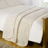Luxurious Mink Faux Fur Throw - Cream: Image 3