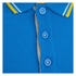 Crosshatch Men's Downtalk Tipped Polo Shirt - Hawaiian Ocean: Image 3