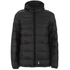 Crosshatch Men's Quilted Rabble Jacket - Caviar: Image 1
