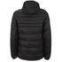 Crosshatch Men's Quilted Rabble Jacket - Caviar: Image 2