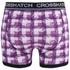 Crosshatch Herren 2er Pack Pixflix Boxers - Violett: Image 4