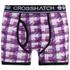Crosshatch Herren 2er Pack Pixflix Boxers - Violett: Image 2