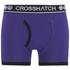 Crosshatch Herren 2er Pack Pixflix Boxers - Violett: Image 3