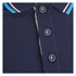Crosshatch Men's Downtalk Tipped Polo Shirt - Iris Navy: Image 3