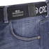 Crosshatch Men's New Embossed Techno Straight Fit Jeans - Stone Wash: Image 3