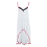 MINKPINK Women's Great White Embellished Peak Hem Dress - White: Image 1