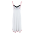 MINKPINK Women's Great White Embellished Peak Hem Dress - White: Image 3
