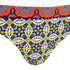 MINKPINK Women's Pepper and Splice Frill Cheeky Bikini Bottoms - Multi: Image 4