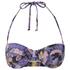 MINKPINK Women's Midnight Bloom Wide Strap Cupped Bikini Top - Multi: Image 1