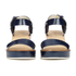 Jil Sander Navy Women's Heeled Sandals - Navy: Image 4