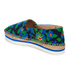 Jil Sander Navy Women's Graphic Flowers Espadrilles - Blue/White: Image 4