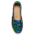 Jil Sander Navy Women's Graphic Flowers Espadrilles - Blue/White: Image 3
