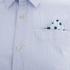 Scotch & Soda Men's Poplin Shirt - Blue: Image 3