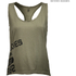 Better Bodies Women's Leisure Raw T-Back Tank Top - Wash Green: Image 1