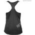 Better Bodies Women's Leisure Raw T-Back Tank Top - Wash Black: Image 2
