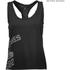 Better Bodies Women's Leisure Raw T-Back Tank Top - Wash Black: Image 1