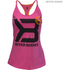 Better Bodies Women's Twisted T-Back Tank Top - Hot Pink: Image 1