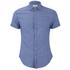 Scotch & Soda Men's Short Sleeved Shirt - Cobalt: Image 1