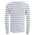 Scotch & Soda Men's Striped Long Sleeved Boat T-Shirt - White: Image 2