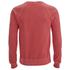 Scotch & Soda Men's Garment Dyed Sweatshirt - Blazing Red: Image 2