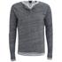 Scotch & Soda Men's Long Sleeved Grandad T-Shirt - Grey Melange: Image 4