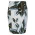 Munthe Women's Emirate Neoprene Leaf Print Skirt - Blue: Image 2