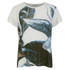 Munthe Women's Elizabeth Leaf Print T-Shirt - White: Image 1