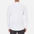 HUGO Men's Ewid Collar Detail Long Sleeve Shirt - White: Image 3