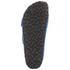 Birkenstock Women's Arizona Slim Fit Suede Double Strap Sandals - Blue: Image 5