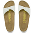 Birkenstock Women's Madrid Slim Fit Single Strap Sandals - Mint: Image 2