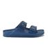 Birkenstock Women's Arizona Slim Fit Double Strap Sandals - Navy: Image 1