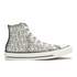 Converse Women's Chuck Taylor All Star Raffia Weave Hi-Top Trainers - Converse Natural/Parchment: Image 1