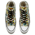 Converse Women's Chuck Taylor All Star Daisy Print Hi-Top Trainers - Black/Rebel Teal/White: Image 2