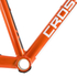 Kinesis Crosslight 5T Disc Frameset - Sweet Orange: Image 2