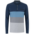 Primal Long Sleeve Henley - Blue: Image 1