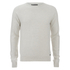 Threadbare Men's Tallin Raglan Crew Neck Jumper - Ecru Marl: Image 1