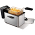 Morphy Richards 45081 Professional Fryer - Brushed Stainless Steel - 2L: Image 1